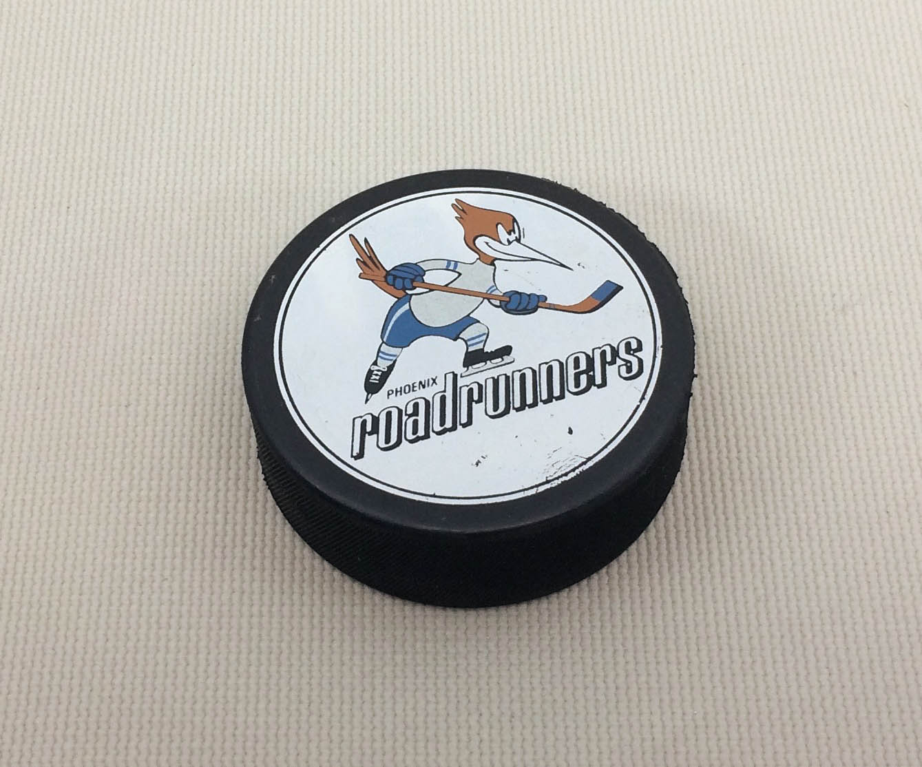 Phoenix Roadrunners IHL Hockey Puck