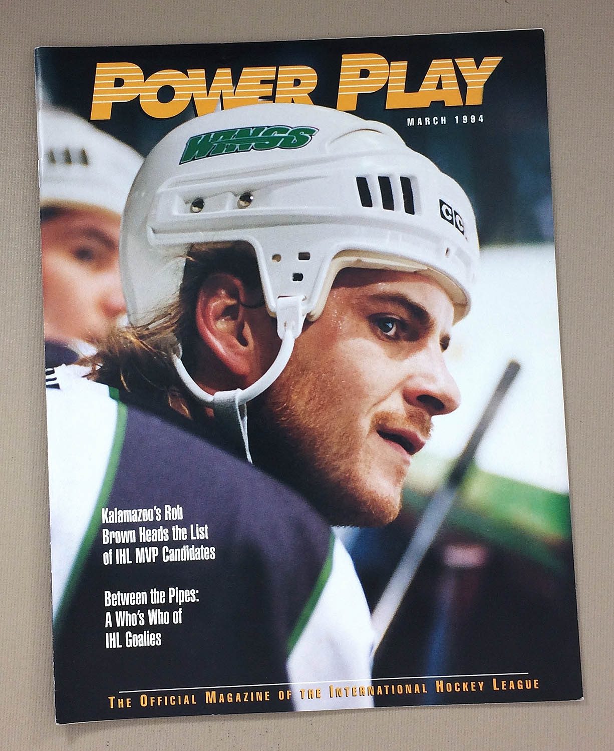 IHL Power Play 1994 Roadrunners Issue