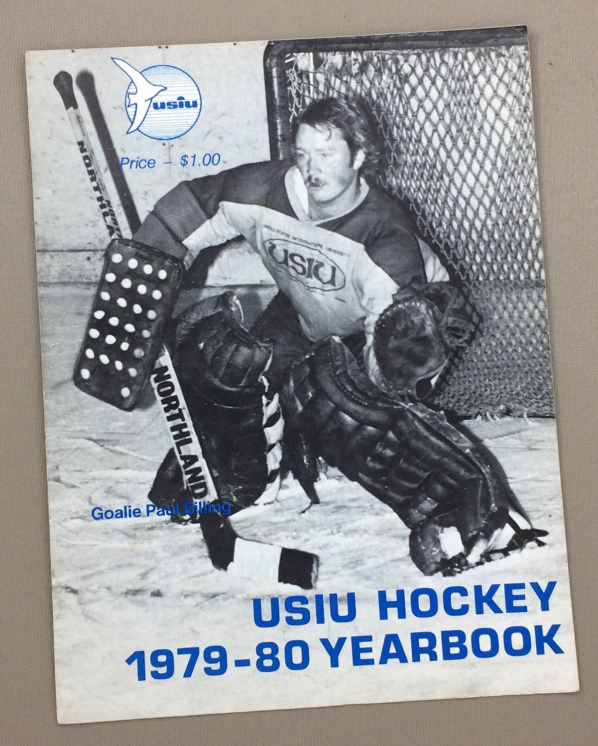 USIU Gulls vs NAU 1980 Hockey Program