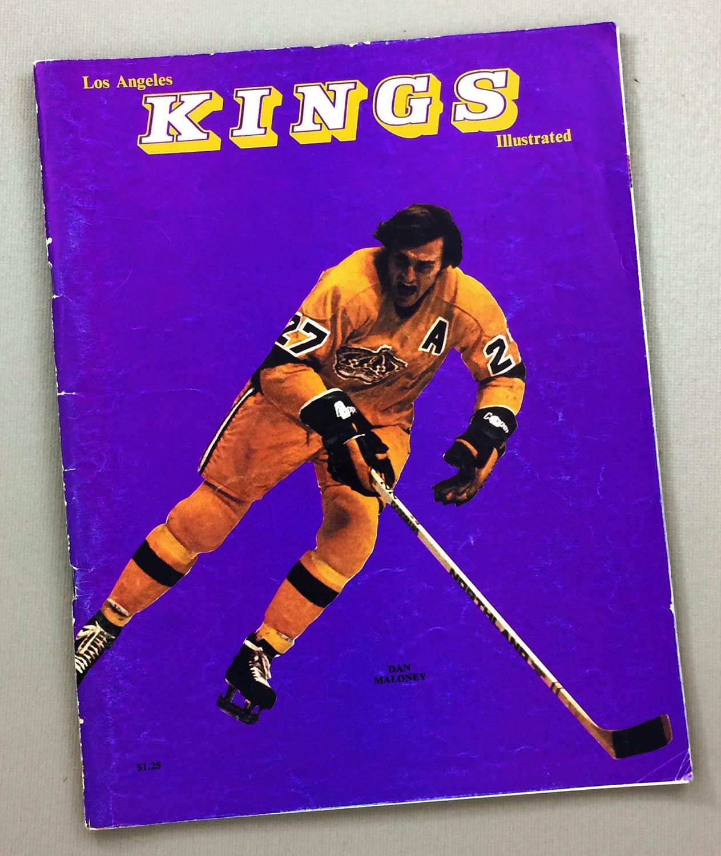 1974 Los Angeles Kings Leafs Program