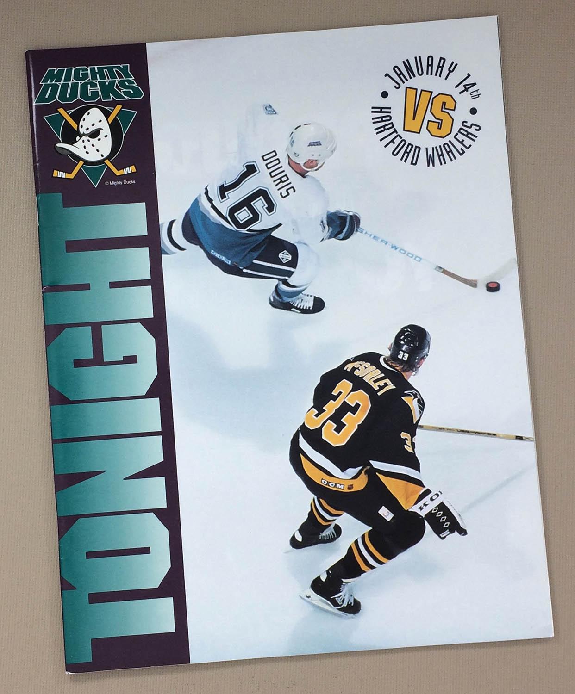 Anaheim Mighty Ducks 1993-94 Program