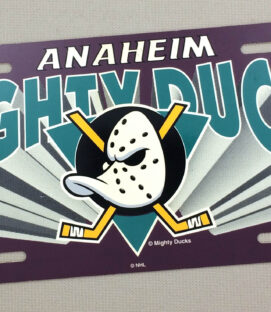 Mighty Ducks of Anaheim License Plate
