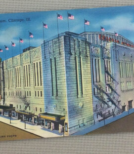 Chicago Stadium Vintage Postcard