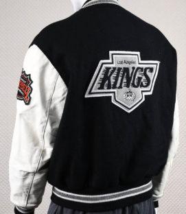 Los Angeles Kings Lettermans-style Jacket