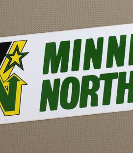 Minnesota North Stars Bumper Sticker