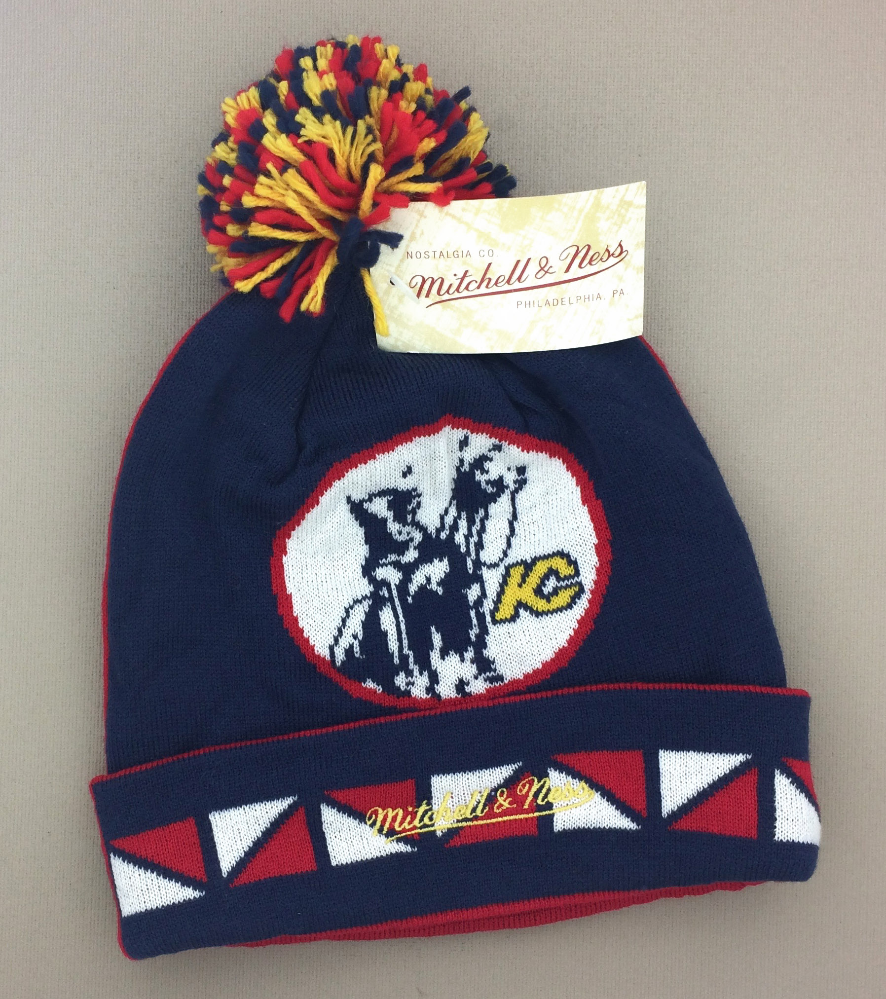 Kansas City Scouts Retro Beanie