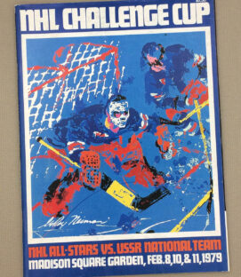 NHL USSR 1979 Challenge Cup Program