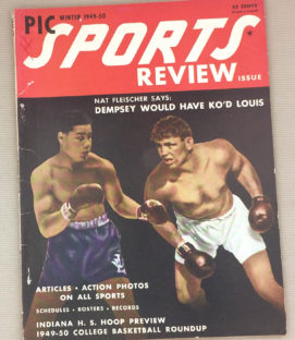 Sports Preview Magazine Winter 1949-50