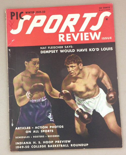 Sports Preview Magazine Winter 1949-50