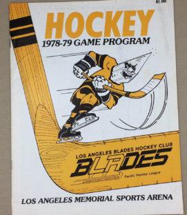 Los Angeles Blades Spokane Flyers Program
