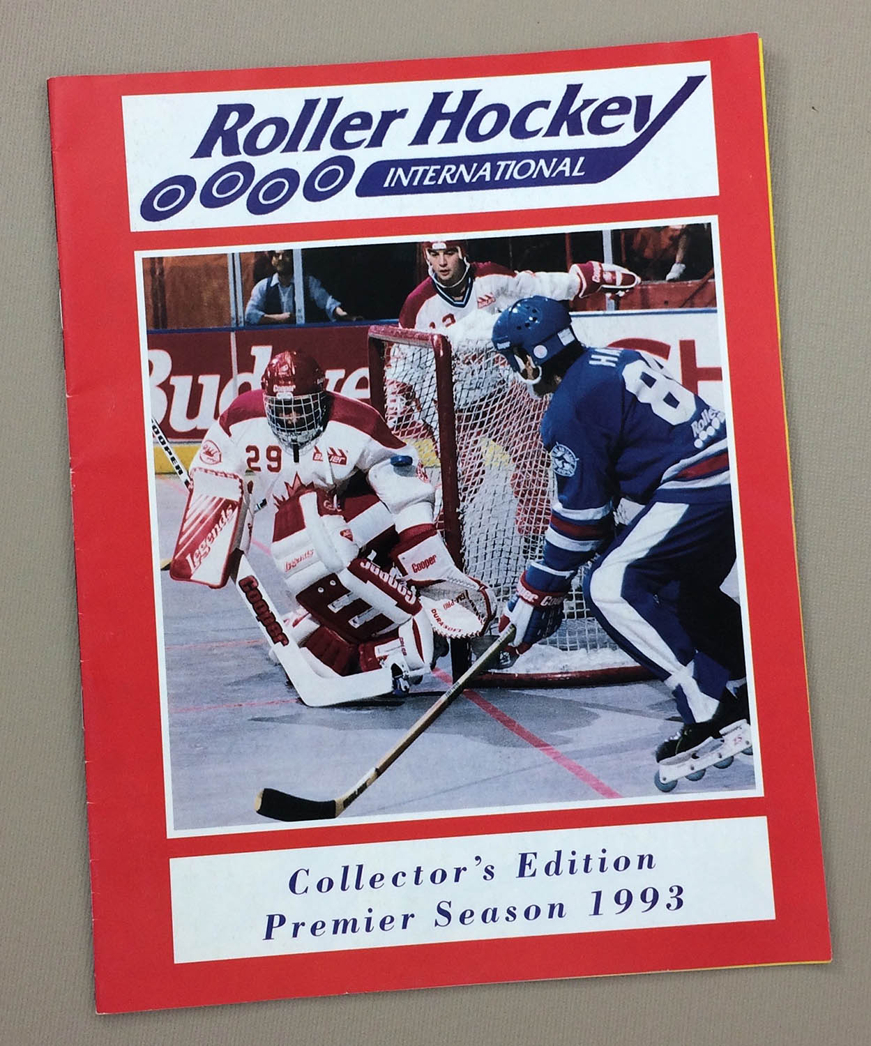 Roller Hockey International Inaugural Yearbook