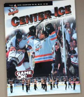 San Diego Gulls 1998-99 Program