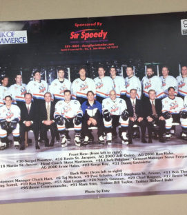San Diego Gulls 1998-99 Team Photo