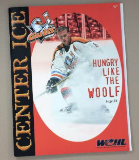 San Diego Gulls 2000-2001 Program