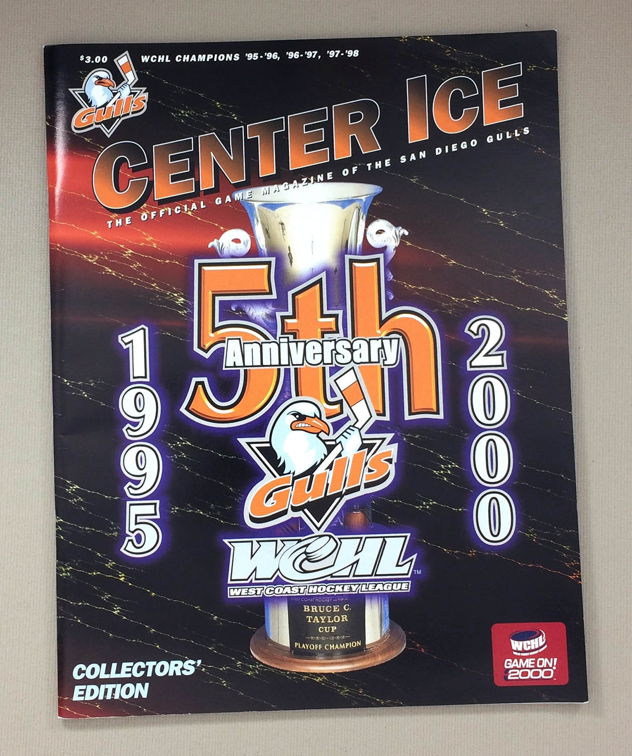 San Diego Gulls 5-Yr Collectors Program