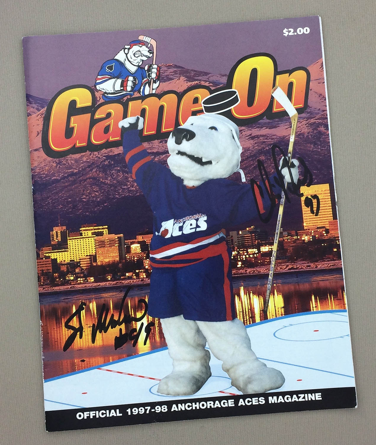 Anchorage Aces 1997-98 Program