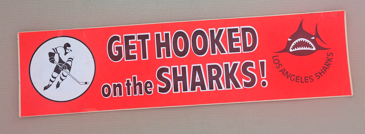 Get Hooked on the LA Sharks Bumper Sticker