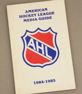American Hockey League 1984-85 Media Guide