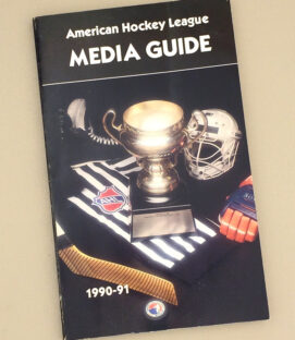 American Hockey League 1990-91 Media Guide