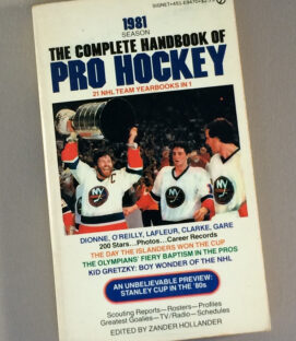 Complete Handbook of Pro Hockey 1981