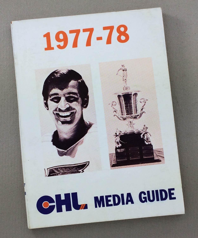1977-78 CHL Media Guide