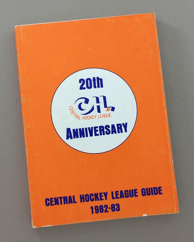 1982-83 CHL Media Guide