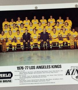 Los Angeles Kings 1976-1977 Team Photo