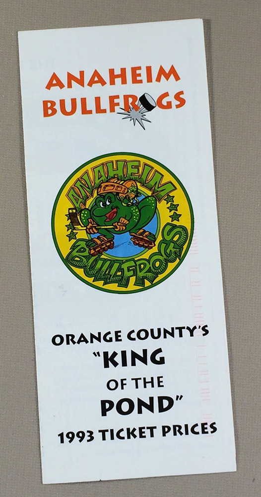 Anaheim Bullfrogs