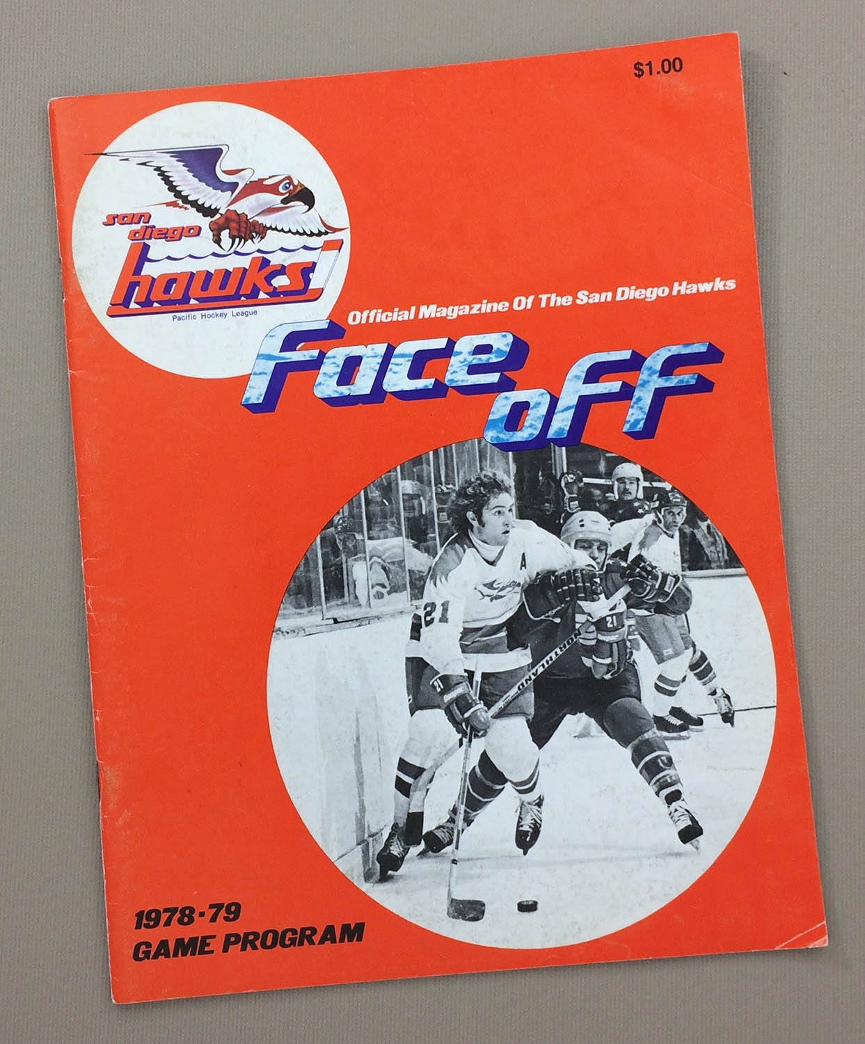San Diego Hawks vs Phoenix Roadrunners Program