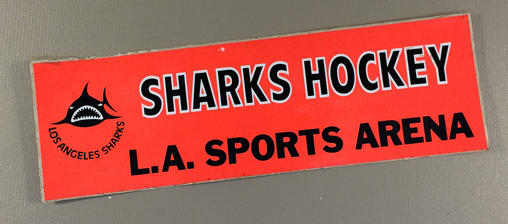 Los Angeles Sharks Bumper Sticker
