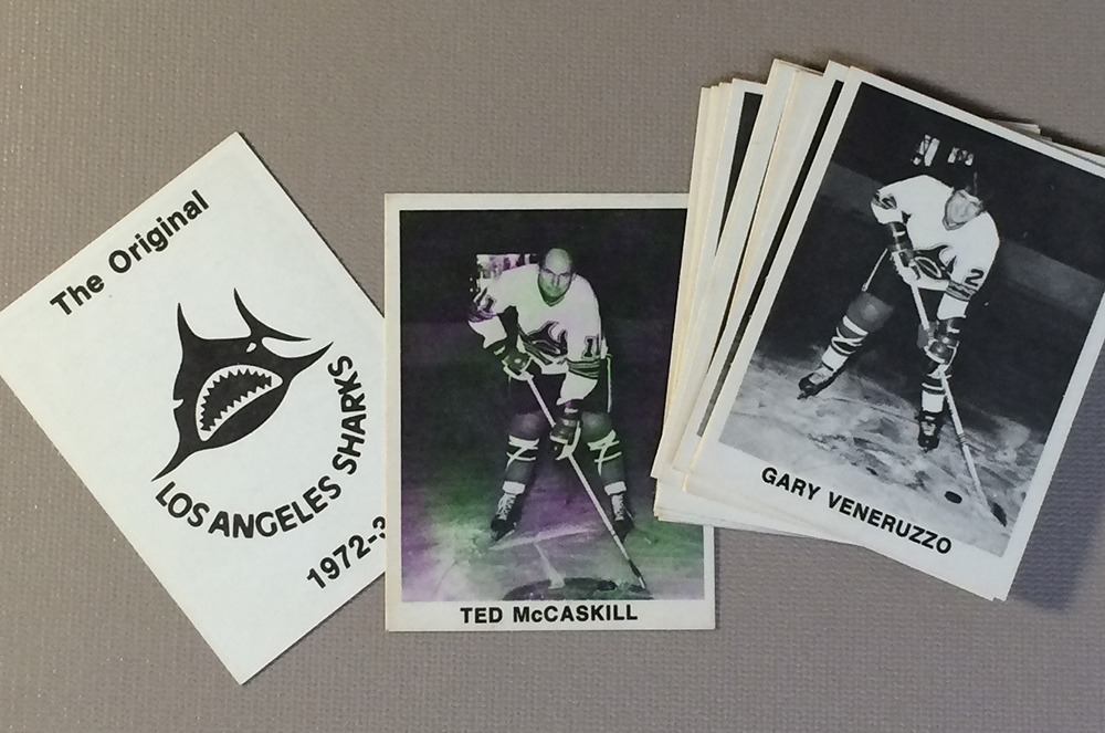 Los Angeles Sharks Collectors Card Set