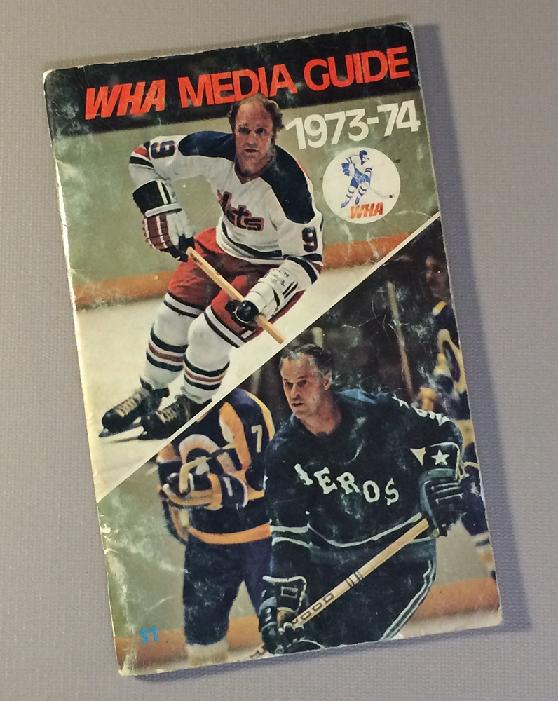 World Hockey Association (WHA) 1973 Media Guide