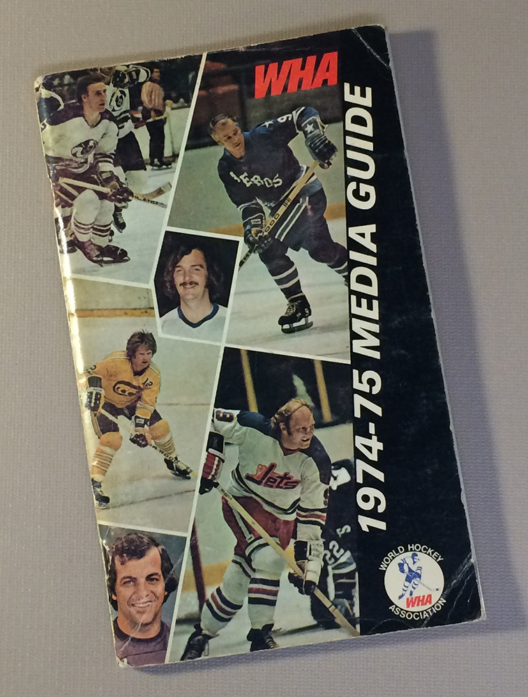 World Hockey Association (WHA) 1974 Media Guide