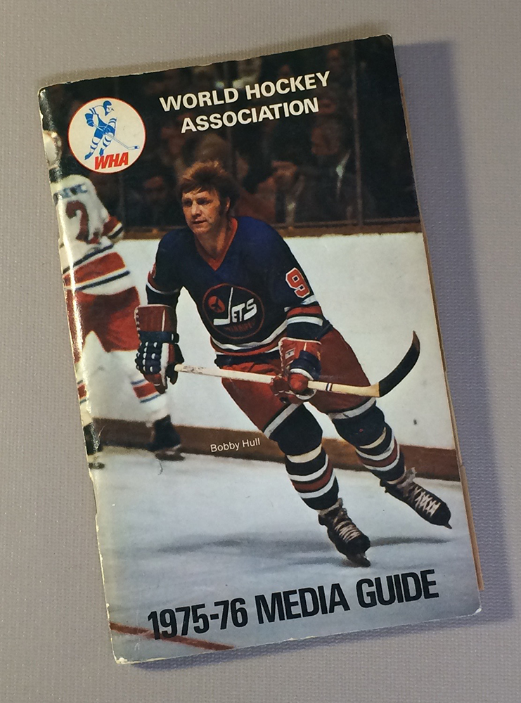 World Hockey Association (WHA) 1975 Media Guide
