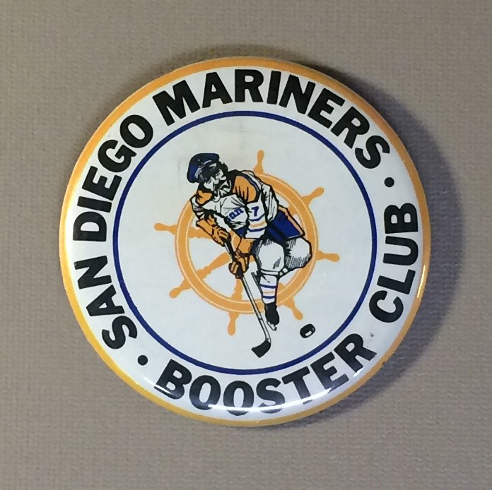 San Diego Mariners Team Button