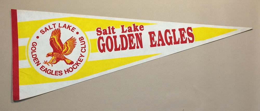 Salt Lake Golden Eagles Pennant