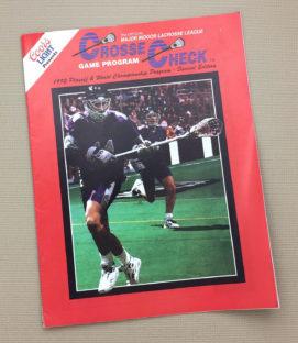 MILL 1992 Playoff Program