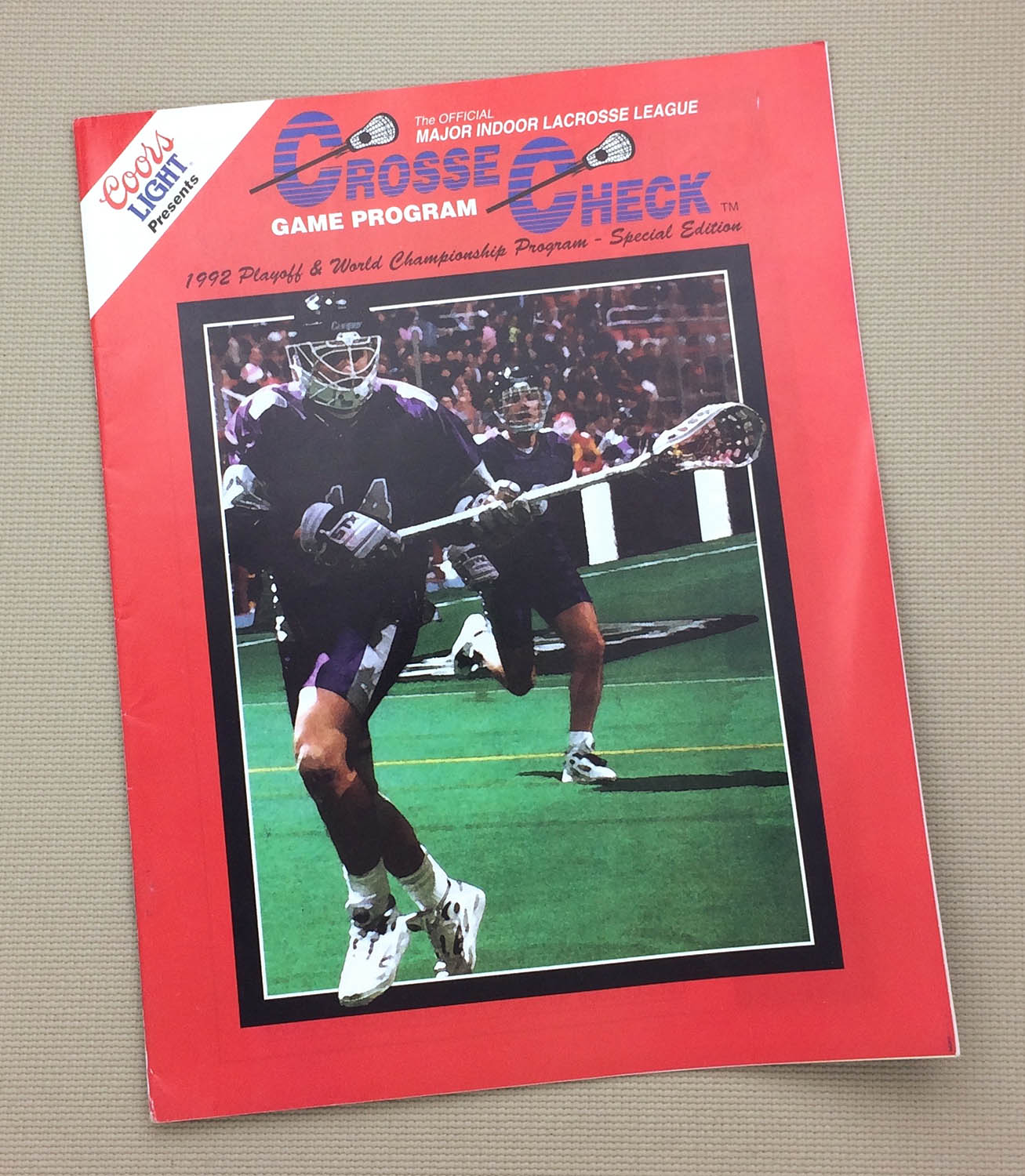 MILL 1992 Playoff Program