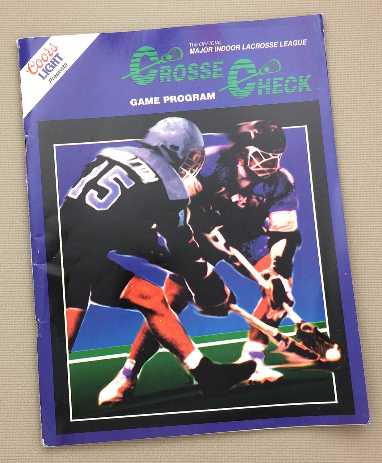 MILL 1992 Pittsburgh Bulls Program