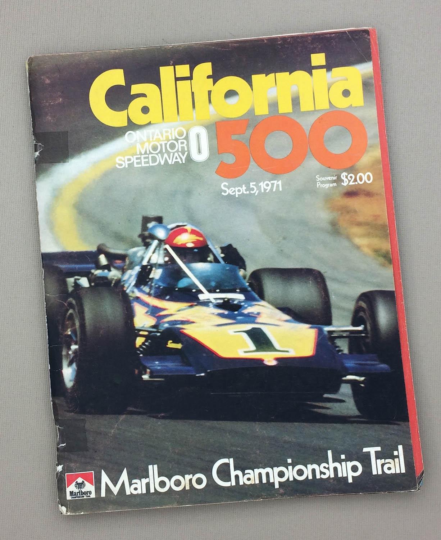 California 500 1971 Program