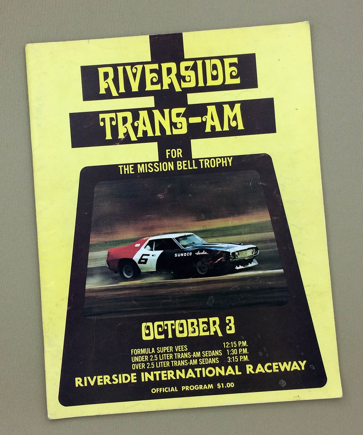 1971 Riverside Trans-Am program
