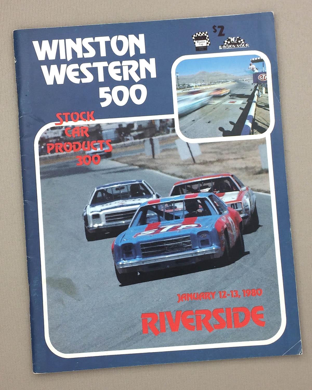 1980 Winston Western 500 Program