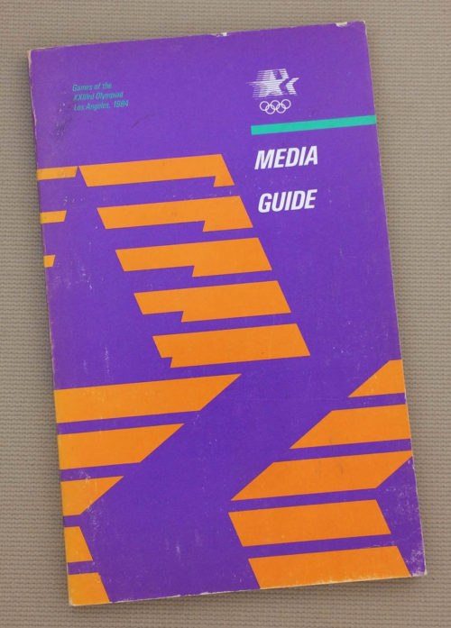 Los Angeles Olympics 1984 Media Guide