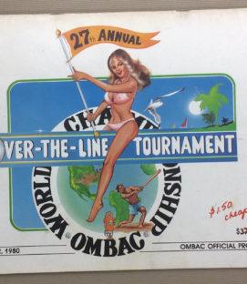 Over The Line 1980 Tournament Program