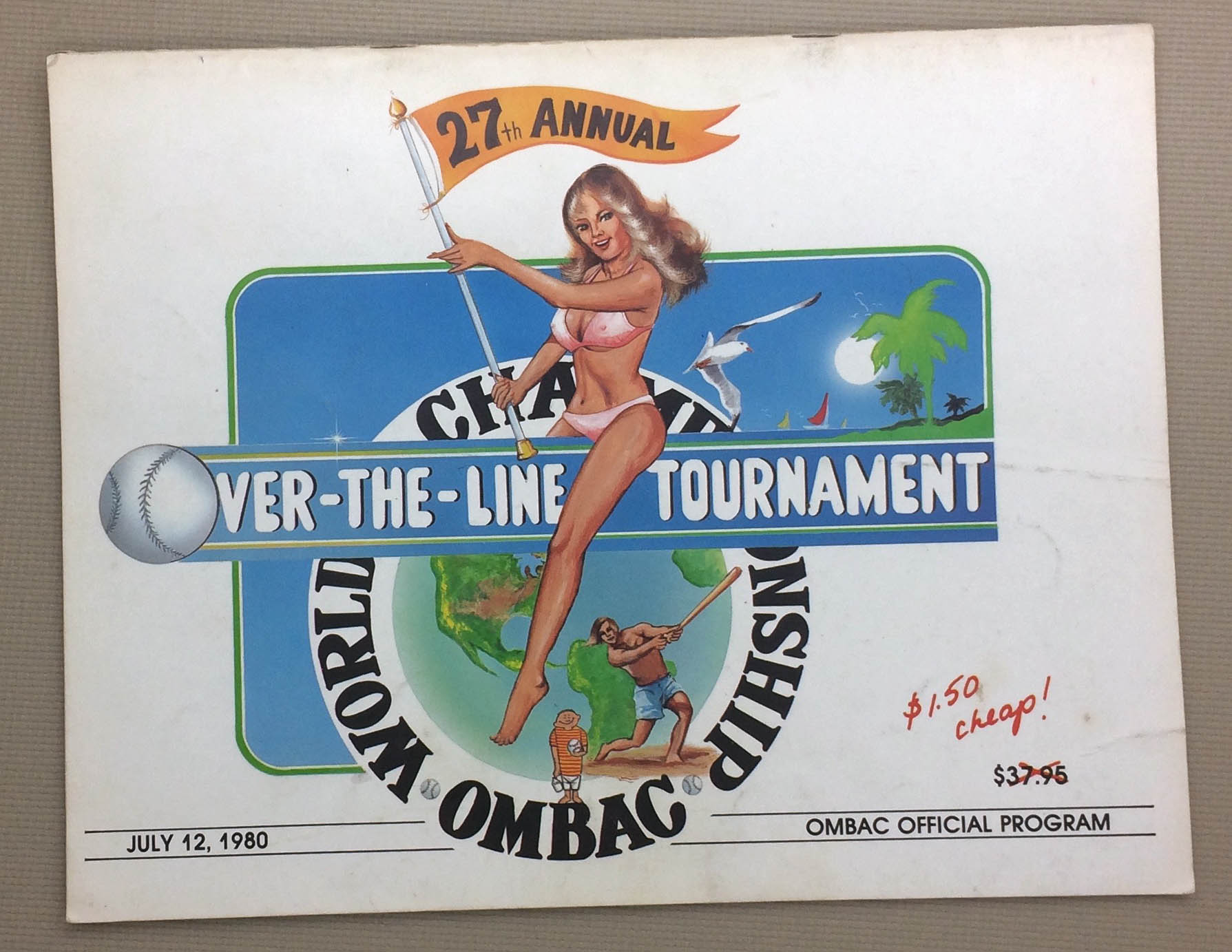 Over The Line 1980 Tournament Program