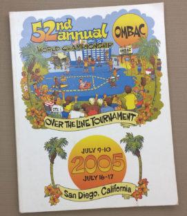 Over The Line 2005 Tournament Program