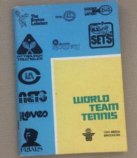 World Team Tennis 1976 Media Guide