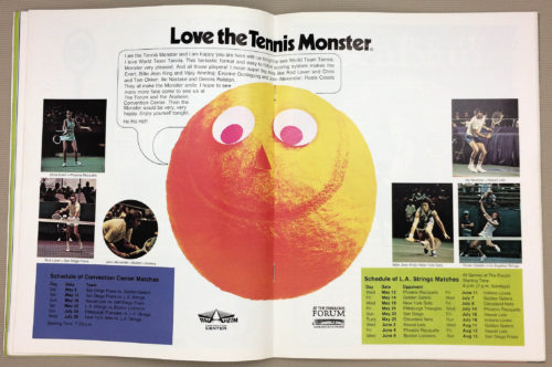 Love The Tennis Monster 1976