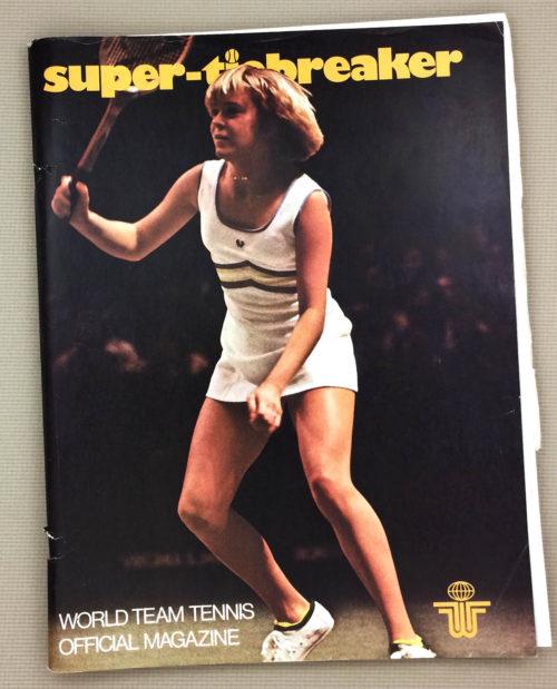 Super Tiebreaker 1977 Program