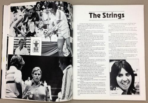 The Strings Rosie Casals